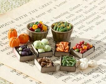 Quarter Scale Miniature Vegetables Kit