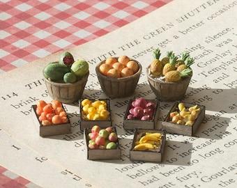 Quarter Scale Miniature Fruits Kit