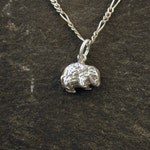 Sterling Silver Wombat Pendant on a Sterling Silver Chain