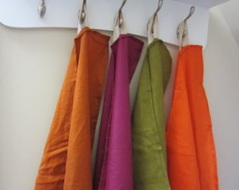 Hand Dyed Ramie Kitchen Towel