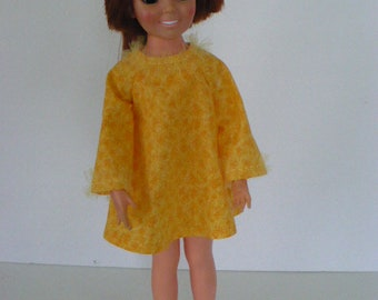 Ideal Crissy Orange A-LIne MIni Dress