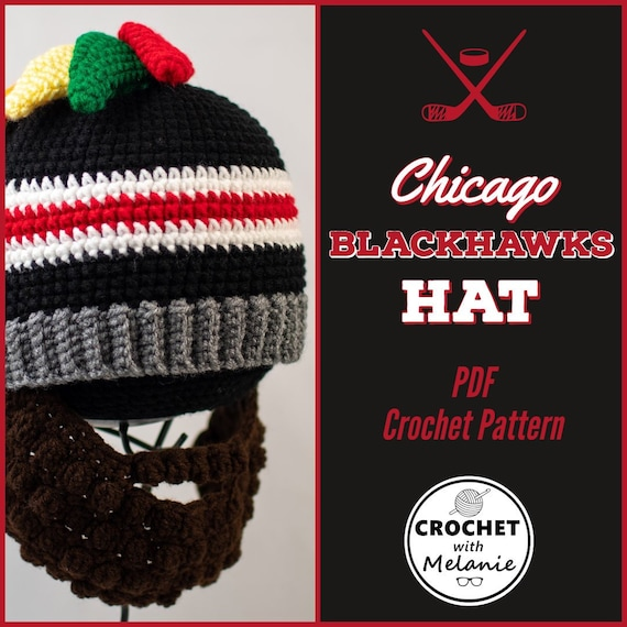 Eishockey Chicago Blackhawks Mammoth Bobble Knit