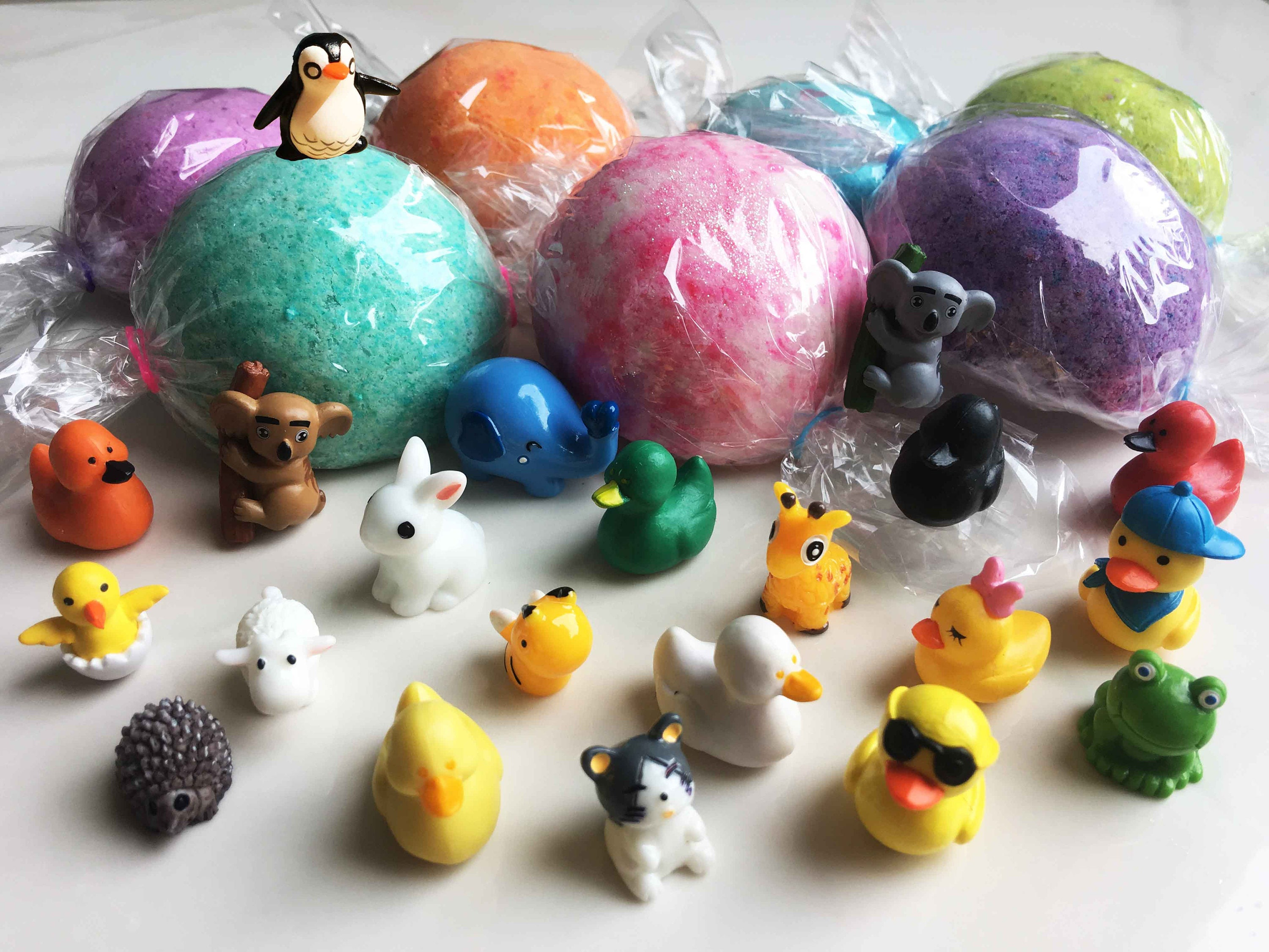 Create Your Own Toy Surprise Bath Bomb Fizzy Bath Candy