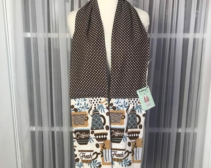 Kathys Kitchen Boa / Kitchen boa /Kitchen scarf /Kitchen towel /Kitchen gift /SewMammaSew Kitchen Boas/ Fall Boa