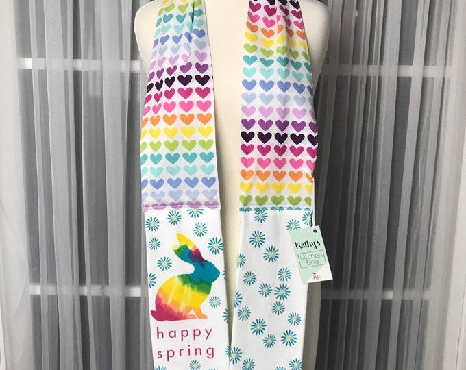 Kathys Kitchen Boa / Kitchen boa /Kitchen scarf /Kitchen towel /Kitchen gift /SewMammaSew Kitchen Boas