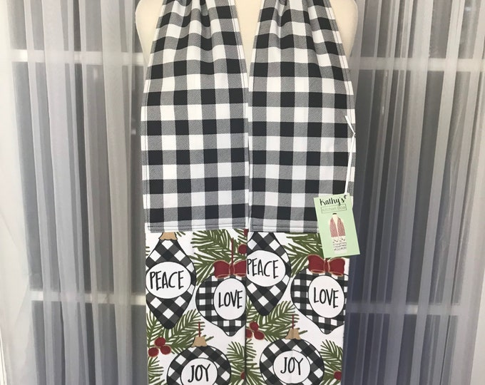 Boa Bundle Sale/Kitchen scarves/Kitchen Boas /Christmas in July Boa Sale/Sale on Boas/Gifts/Handmade kitchen Boas/SewMammaSew Boas