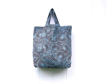 SALE Market Tote Bag - Organic Cotton Twill - Grocery - Cloth Bag -  Farmers Market - Eco Friendly - Ready to Ship