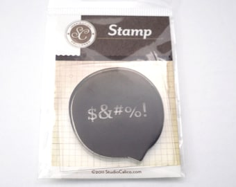 Studio Calico Speech Bubble Stamp