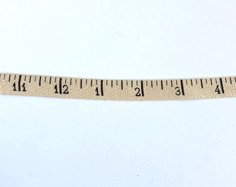 Vintage Style Ruler Measuring Tape Twill - 3 Yards - Creative Impressions