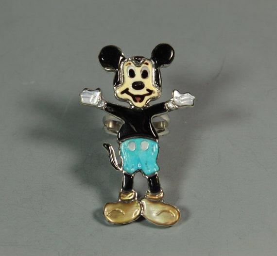 Mickey Mouse Ring Zuni Andrea Lonjose Shirley inla