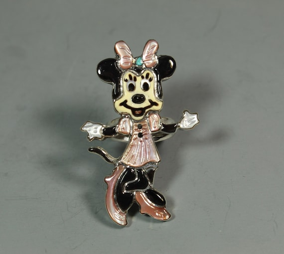 Minnie Mouse Ring Zuni Andrea Lonjose Shirley inla