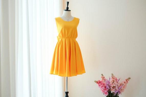 Gold Gelb brautjungfernkleid gelb Prom Kleid heißen gelben