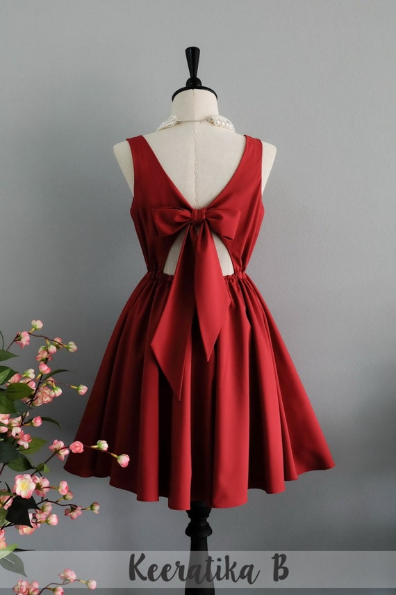 image 0 - Red Dress For Christmas Party