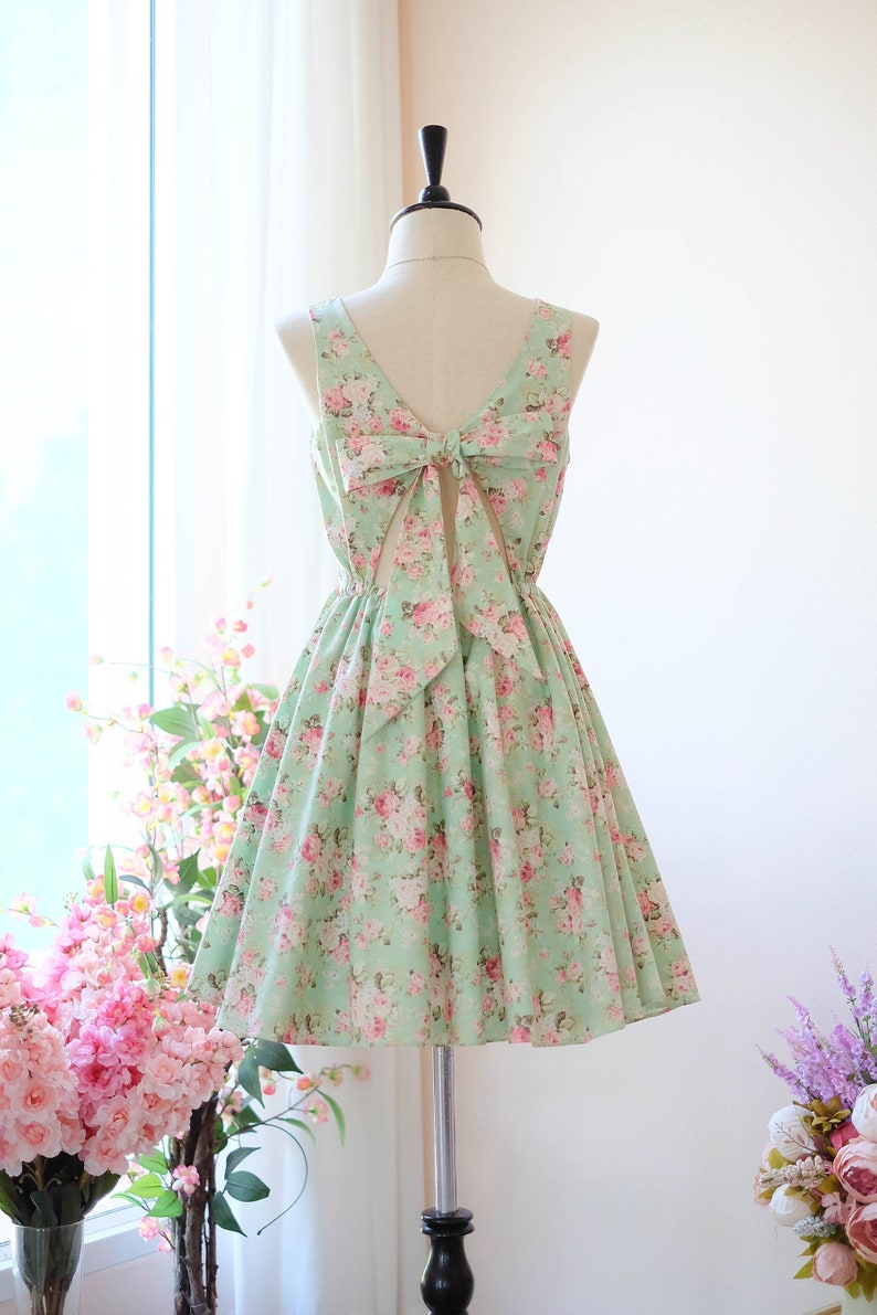 0759c6c83bc Green dress green Bridesmaid dress Prom dress Lolita Wedding