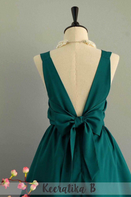Kiefer grün grünes Kleid Party Kleid grün Abschlussball Kleid