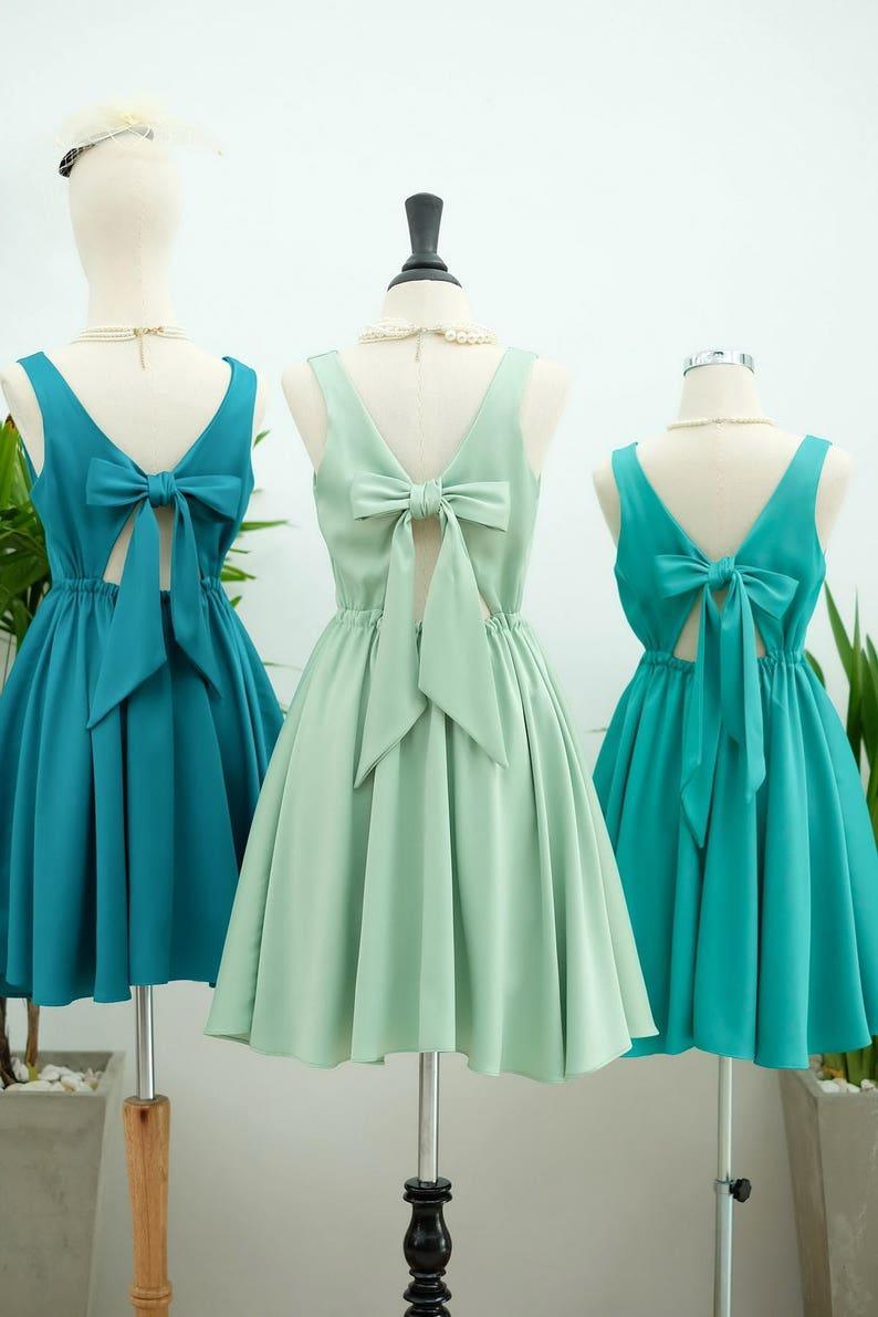 2aedc5814d2 Sage green dress Emerald green Bridesmaid dress Prom dress
