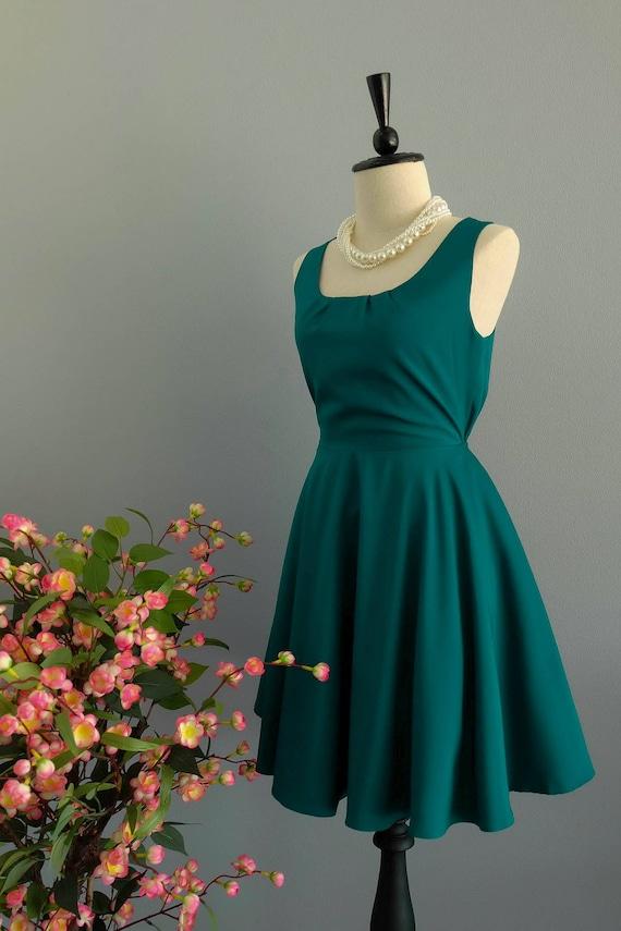 Kiefer grünen Kleid Weihnachten grün Brautjungfer Kleid Prom | Etsy