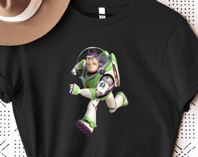 Buzz Lightyear, Toy Story 2 3 4, Woody Andy Jessie, Disney Shirt for Kids Him Her, Disney Family Vacation Trip, Sublimation Full Color