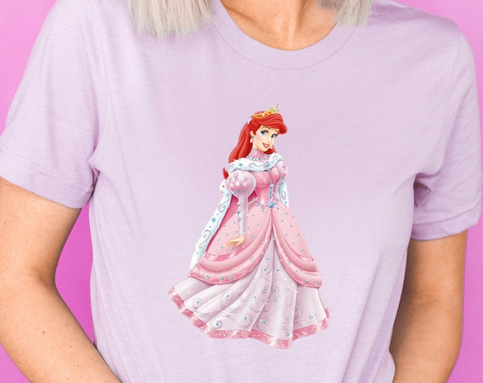 Little Mermaid, Princess Ariel, Under The Sea, Disney Shirts for Kids Her, Family Vacation Trip, Olaf, First Trip, Matching