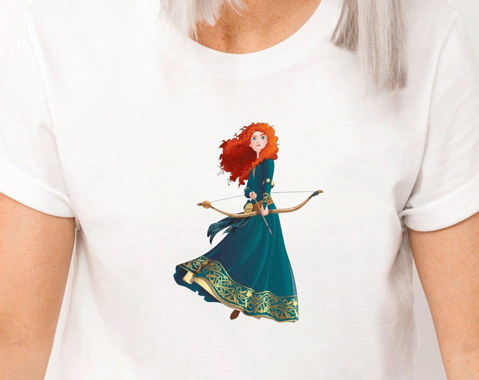 Merida, Brave, Disney Princess,  Disney Shirts for Kids Her, Family Vacation Trip, First Trip, Matching