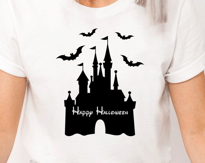 Disney Spooky Castle, Spooktacular, Mickeys Not So Scary Halloween, Magic Kingdom, Adult Youth Toddler and Tanks, Tie-Dye