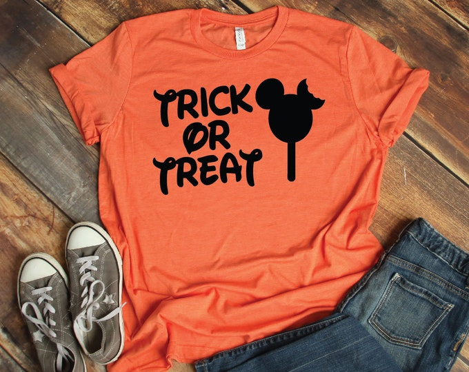 Trick Or Treat-  Magical Vacation Tee - Adult, Youth, Toddler, and Tanks-Over 100 Color Choices