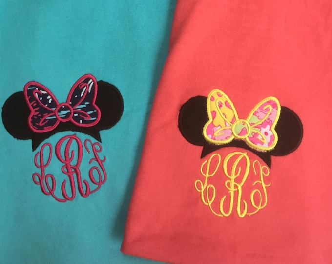 Tank - Comfort Colors  - Minnie and Lilly - Love it!