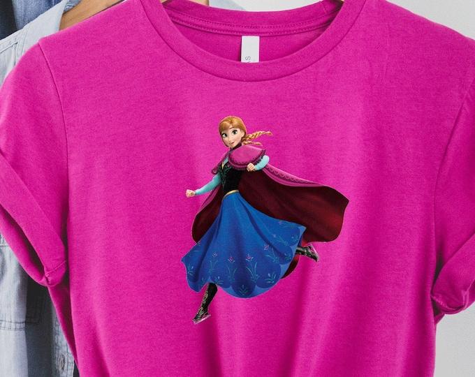 Frozen Anna Shirt, Elsa, Disney Shirts for Kids Her, Disney Family Vacation Trip, Olaf