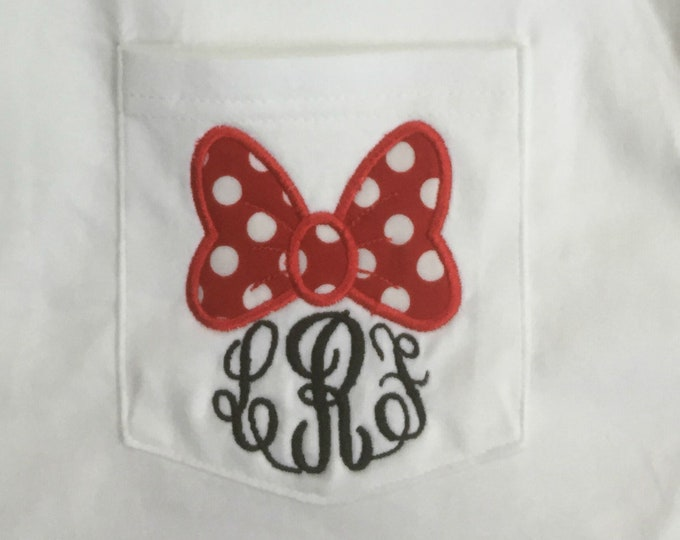 Oh that famous bow!- youth and adult sizes