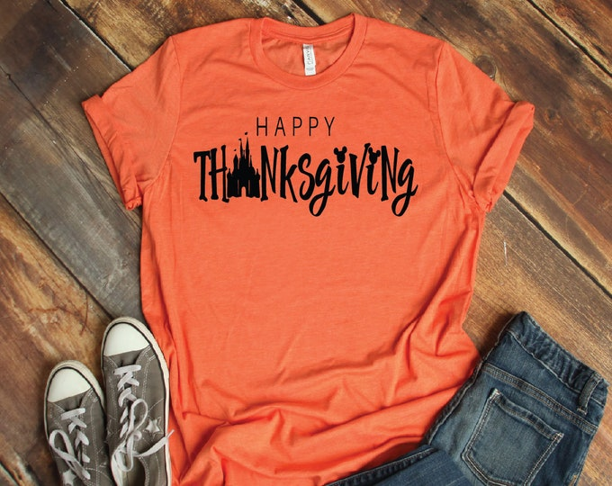 Thanksgiving-  Magical Vacation Tee - Adult, Youth, Toddler, and Tanks-Over 100 Color Choices