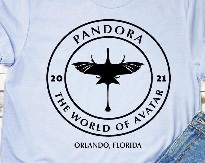 Pandora the World of Avatar, Banshee, Pandora Shirts, Animal Kingdom, Disney Family Vacation Shirts, tie-dye, Adult Youth Toddler, Tie-Dye