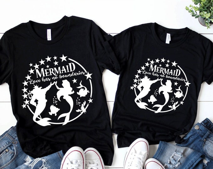 Love has no boundaries - Magical Vacation Tee - Adult, Youth, Toddler, and Tanks-Over 100 Color Choices