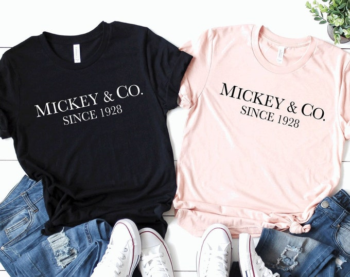 Mickey & Co- Adult and Youth sizes