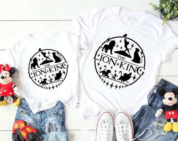 The Lion King Circle of Life - Adult and Youth Shirt sizes