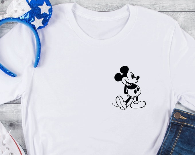 Retro Mickey, Vintage Mickey, Disney Family Vacation Shirt, Adult Youth Toddler and Tanks, Tie-Dye