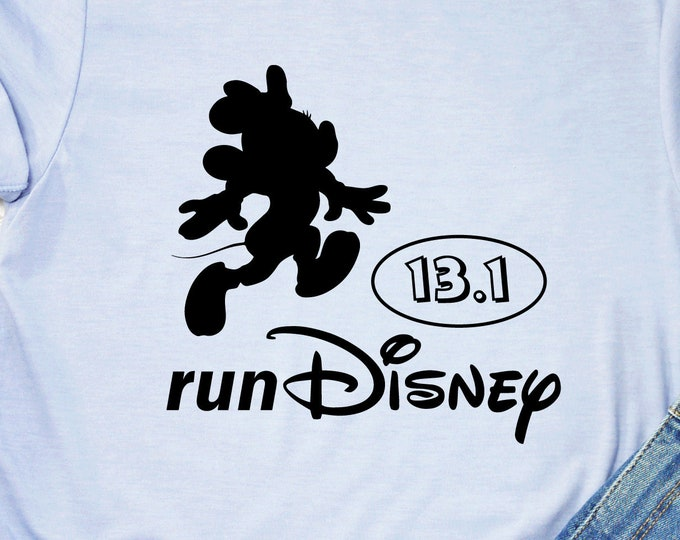 Minnie Mouse - Run Disney 5K, 13.1, 26.2 - Magical Vacation Tee - Adult, Youth, Toddler, and Tanks-Over 100 Color Choices