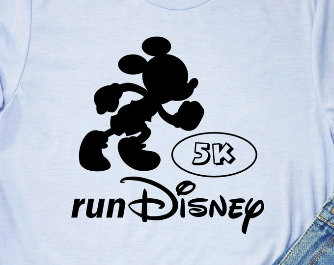 Mickey Mouse - Run Disney 5K, 13.1, 26.2 - Magical Vacation Tee - Adult, Youth, Toddler, and Tanks-Over 100 Color Choices