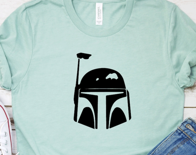 Boba Fett - Star Wars Characters - Galaxy's Edge - Star Wars - Hollywood Studios - Magical Vacation Tee, Tie-Dye