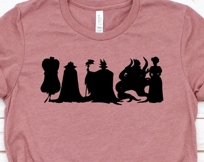 Villains Squad Shirt, Disney Villains, Disney Vacation Shirt, Group Shirts, Funny Shirts, Adult, Youth, Toddler, and Tanks, Tie-Dye