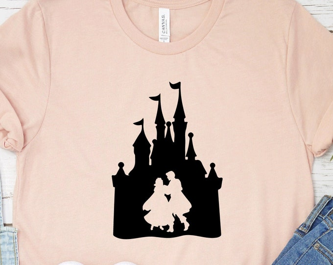 Snow White and prince Florian, Magic Kingdom, Princess Shirts, Women's Lady's Girl's Disney Shirt, Disneyland Shirt, Disney Shirts