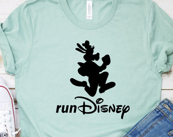 Run Goofy - Run Disney - Disney Marathon - Disney Half Marathon -Magic Kingdom- Magical Vacation Tee - Adult, Youth, Toddler, and Tanks