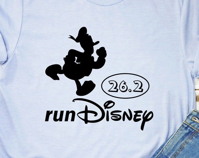 Donald - Run Disney 5K, 13.1, 26.2 - Magical Vacation Tee - Adult, Youth, Toddler, and Tanks-Over 100 Color Choices