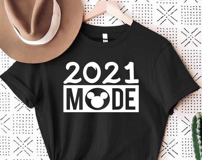 Disney 2021 Mode Shirt, Disney Vacation Shirts, Men Women Kids, Family Vacation, Magic Kingdom, Mickey Mouse Ears, 2021, Tie-Dye