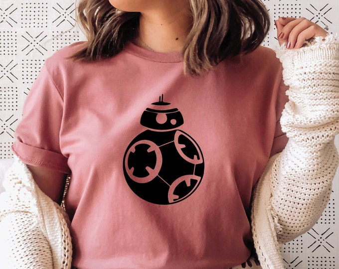 BB - 8 - Star Wars Characters - Galaxy's Edge - Star Wars - Hollywood Studios - Magical Vacation Tee, Tie-Dye