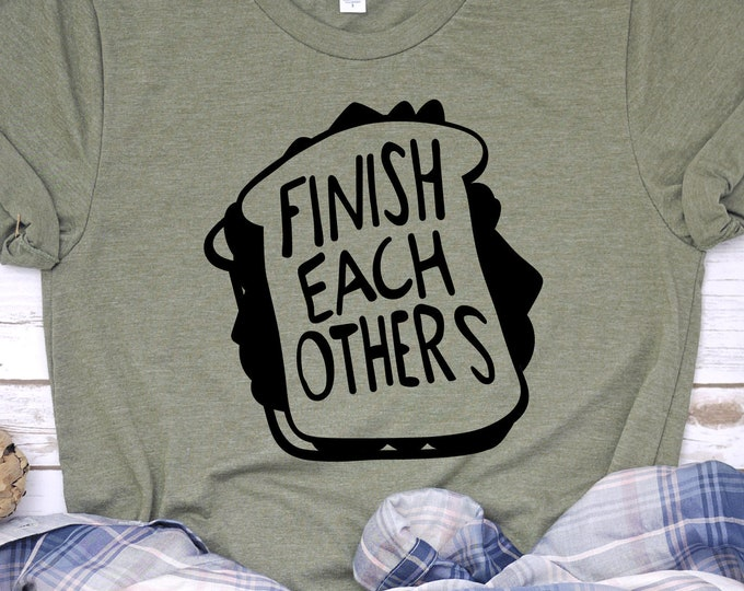 Finish each other's sandwiches - Hans and Anna -  Frozen - Frozen 2 - Adult and Youth Shirt sizes, Tie-Dye
