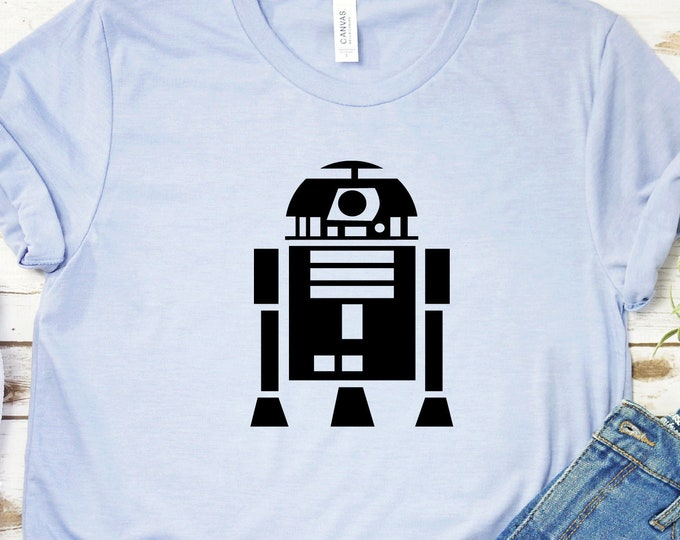 R2-D2 - Star Wars Characters - Galaxy's Edge - Star Wars - Hollywood Studios - Magical Vacation Tee, Tie-Dye