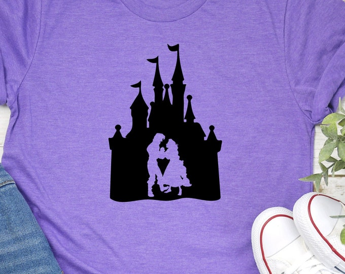 Rapunzel Tangled, Magic Kingdom, Princess Shirts, Women's Lady's Girl's Disney Shirt, Disneyland Shirt, Disney shirt, Tie-Dye Tank Top Tees