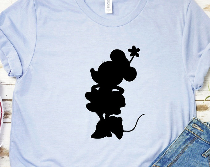 Minnie Mouse- Mickey Mouse Club House-  Mickey, Minnie, Pluto, Goofy, Donald - Magical Vacation Tee - Adult, Youth, Toddler, and Tanks
