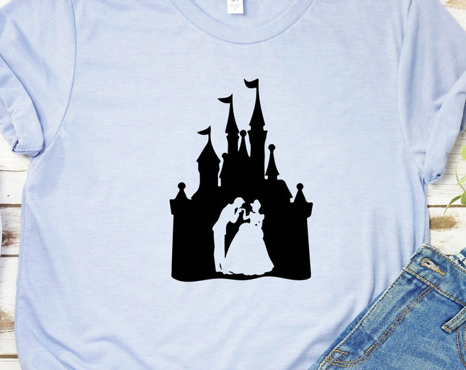 Cinderella Prince Charming Castle, Magic Kingdom, Princess Shirts, Women's Lady's Girl's Disney Shirt, Disneyland Shirt, Disney Shirts