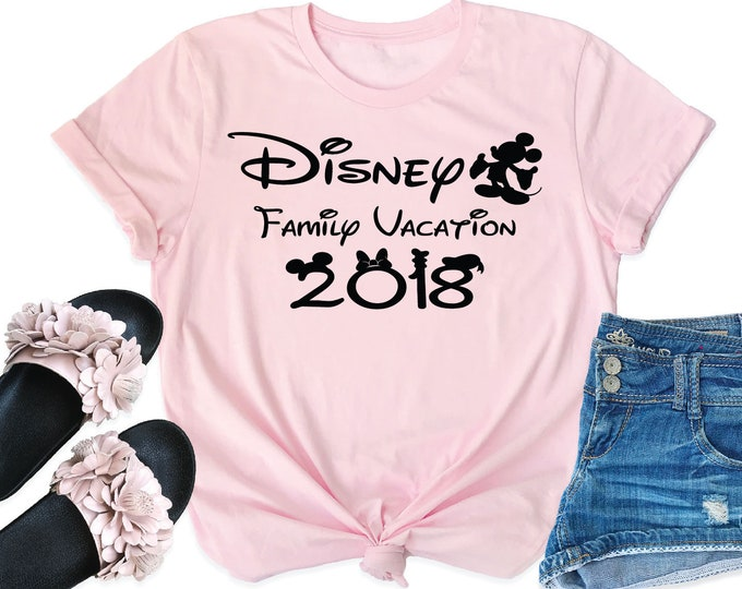 Disney Family Vacation -  Magical Vacation Tee - Adult, Youth, Toddler, and Tanks-Over 100 Color Choices